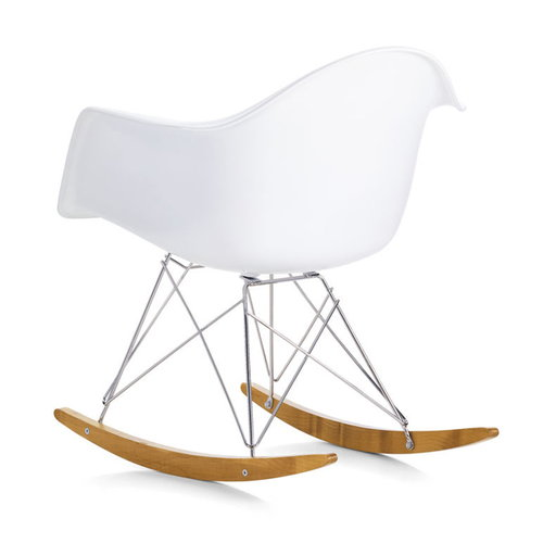 Vitra Eames RAR rocking chair, black