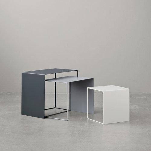 Ferm Living Cluster tables 3 pcs, grey