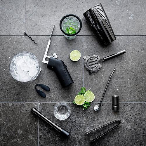 Sagaform Club drink set, black