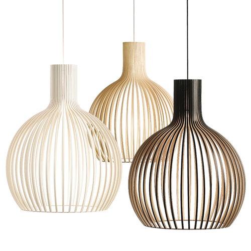 Secto Design Octo 4240 lamp, birch