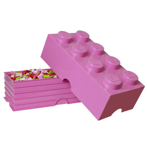 Room Copenhagen Lego Storage Brick 8, medium pink