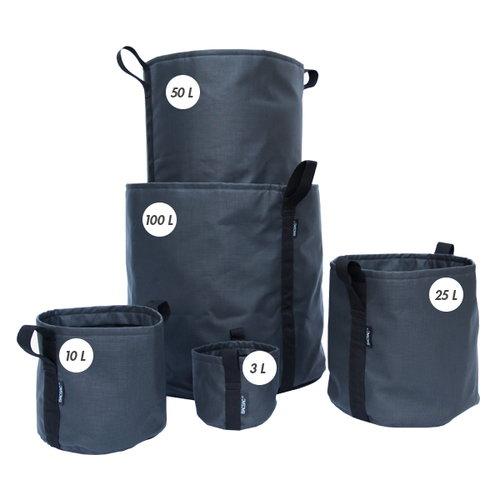 Bacsac Batyline pot, asphalte