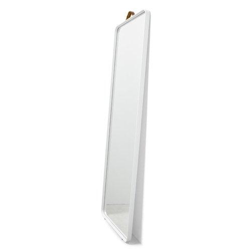 Menu Norm floor mirror, white
