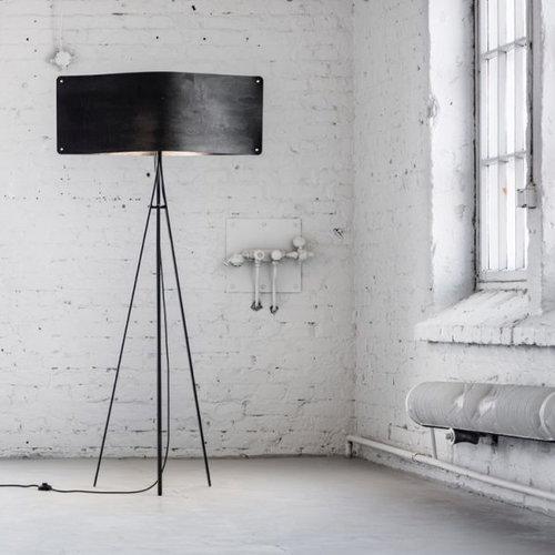 Finom Wide floor lamp, black