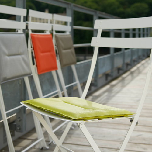 Fermob Seat cushion for Bistro Metal chair, verbena