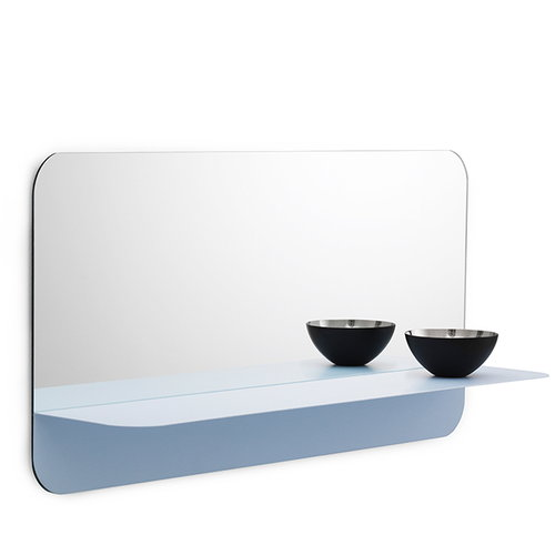 Normann Copenhagen Horizon mirror horizontal, light blue