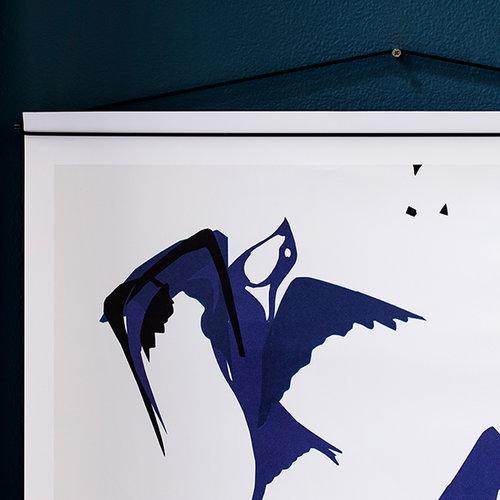 Moebe Poster hanger, black