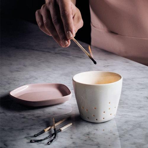 Iittala Iittala X Issey Miyake lautanen 11 x 11 cm, vaaleanpunainen