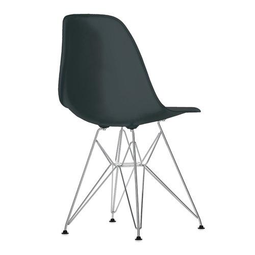 Vitra Eames DSR chair, white - chrome