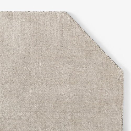 &Tradition The Moor rug, 240 x 240 cm, beige dew