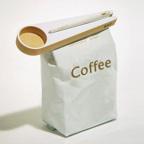 Hile Kapu kahvimitta ja pussinsulkija