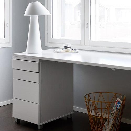 Lundia Loisto table lamp, white