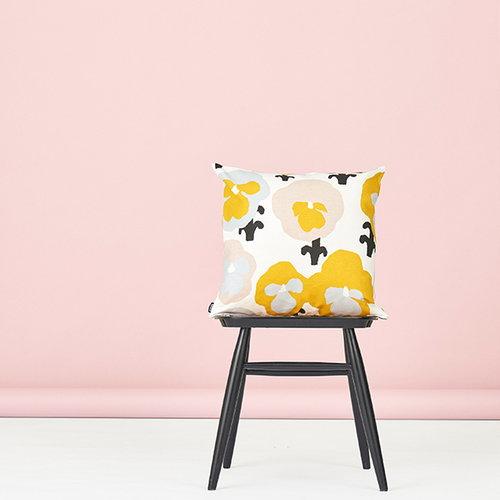 Kauniste Orvokki tyynynp��llinen, keltainen