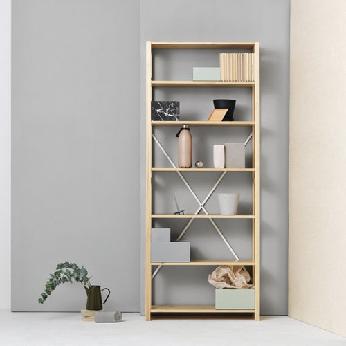 Lundia Open shelf, high, lacquered