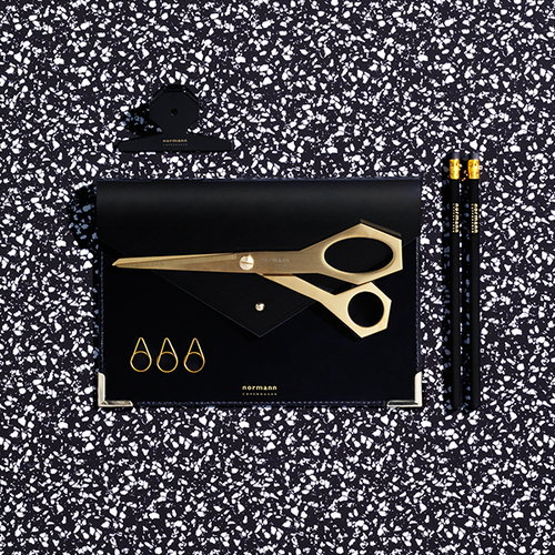 Normann Copenhagen Daily Fiction scissors, gold
