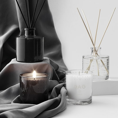 Skandinavisk Scented candle with lid, NAT