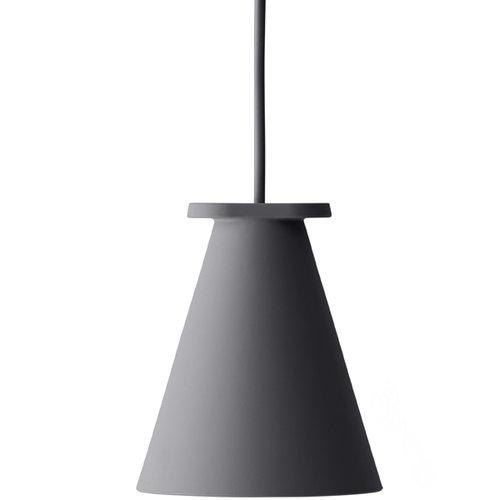 Menu Bollard lamp, carbon