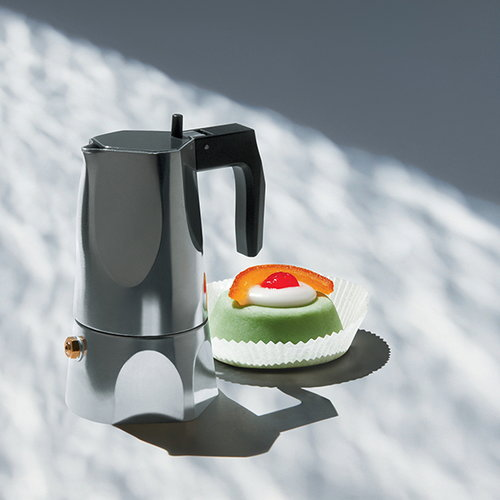 Alessi Ossidiana espresso maker, 3 cups