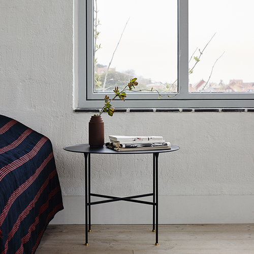 Skagerak Brut table, black