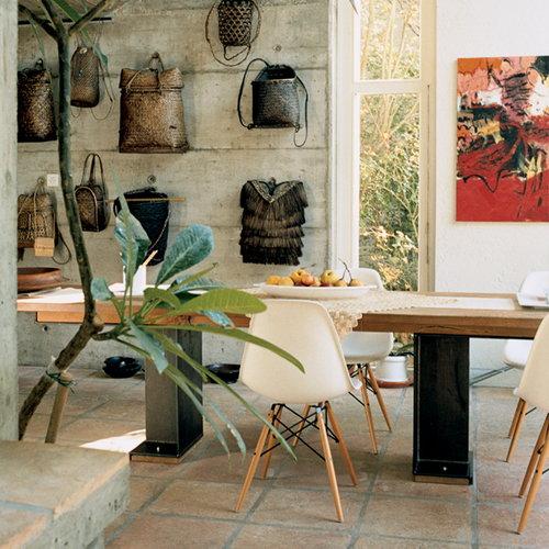 Vitra Eames DSW tuoli, valkoinen/vaahtera