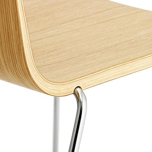 Normann Copenhagen Just Chair, tammi - kromi