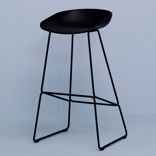 hay about a stool aas38 black finnish design shop. Black Bedroom Furniture Sets. Home Design Ideas