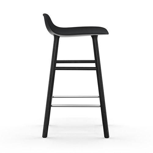 Normann Copenhagen Form baarituoli, 65 cm, musta-musta