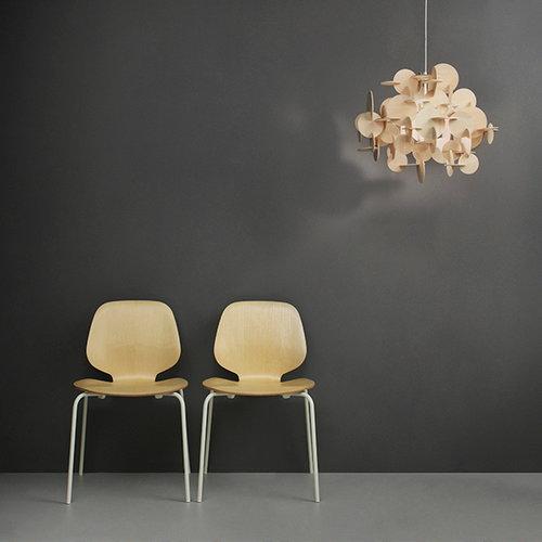 normann copenhagen bau lamp small natural finnish design shop. Black Bedroom Furniture Sets. Home Design Ideas