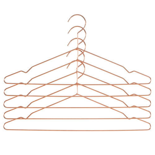 Hay Hang hanger, copper, 5 pcs