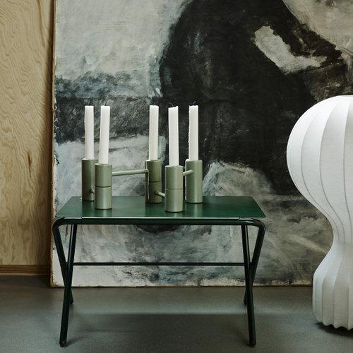 Skagerak Bow table, low, slate grey
