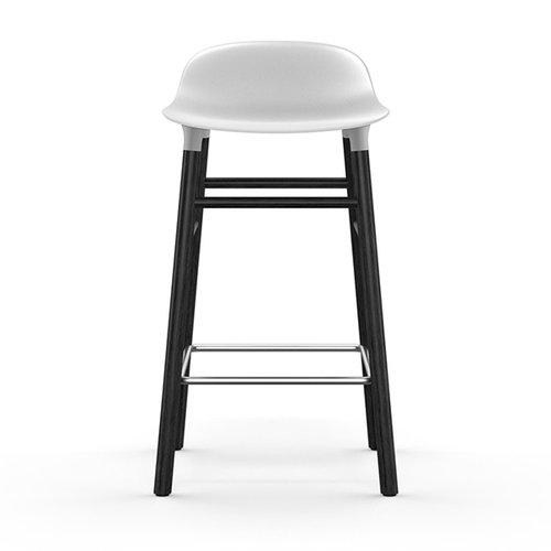 Normann Copenhagen Form baarituoli, 65 cm, musta-valkoinen