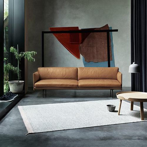 Muuto Ply matto, luonnonvalkoinen