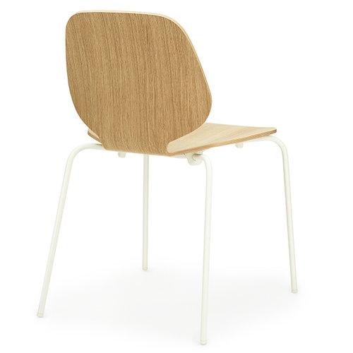 Normann Copenhagen My Chair, tammi - valkoinen