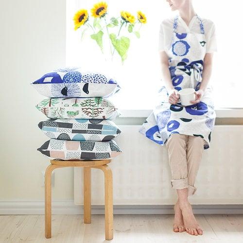 Kauniste Sokeri tyynynp��llinen, sininen
