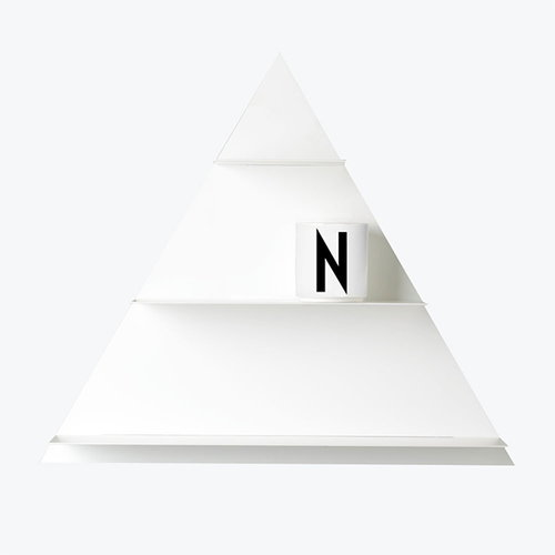 Design Letters White Paper Triangle hylly