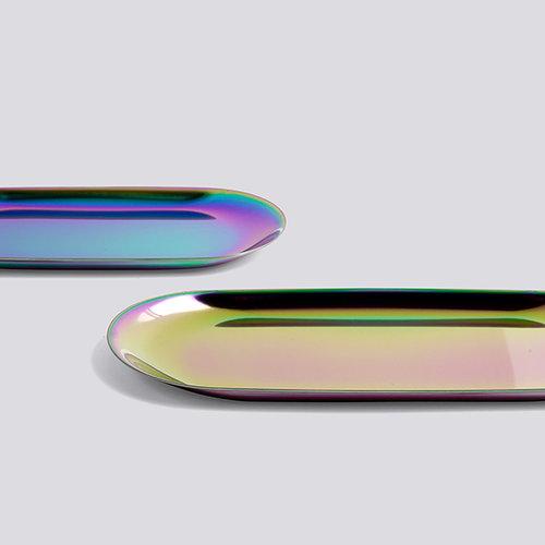 Hay Tray, oblong, S, rainbow