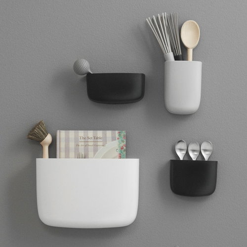 Normann Copenhagen Pocket organizer 4, white