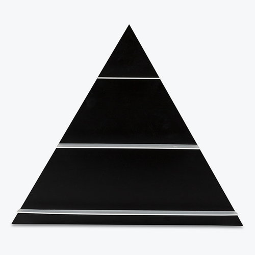 Design Letters Black Paper Triangle hylly