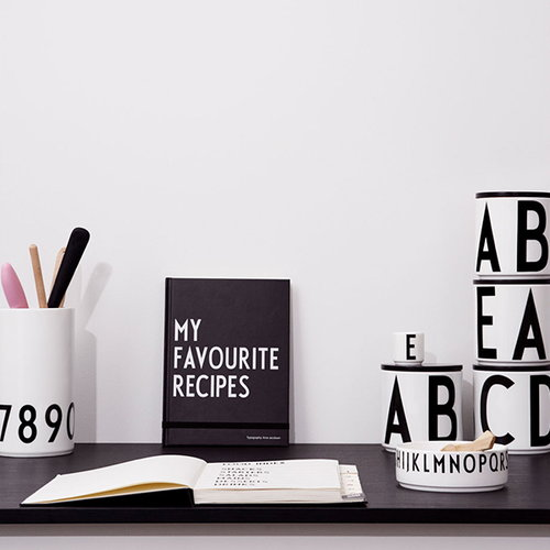 Design Letters My Best Recipes