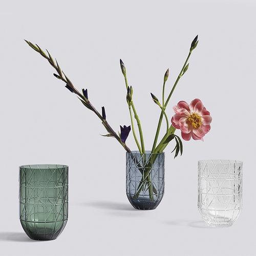 Hay Colour vase, M, clear