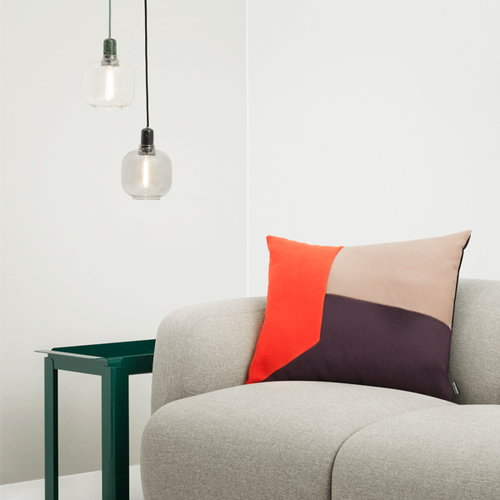 Normann Copenhagen Amp pendant, large, gold/green