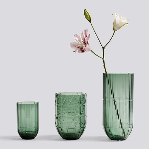 Hay Colour vase, M, green
