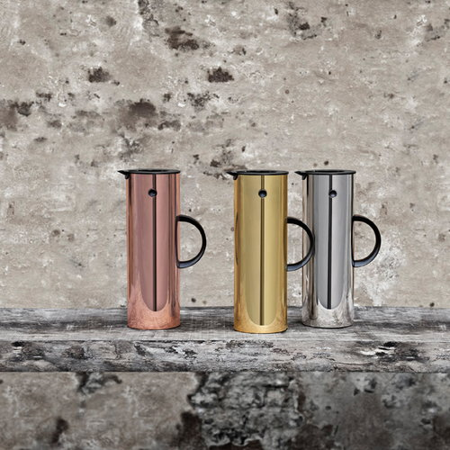 Stelton EM77 Hot Metal termoskannu, peilipinta