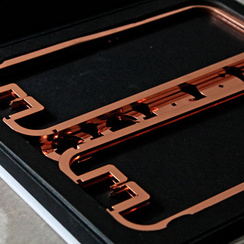 Be&liv Quartet candleholder, copper