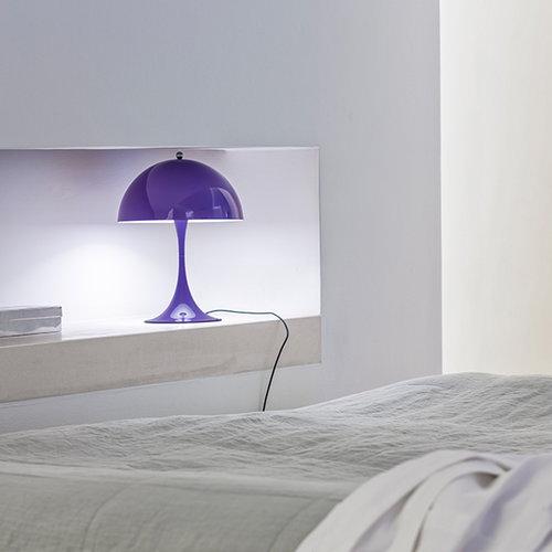 Louis Poulsen Panthella Mini table lamp, purple