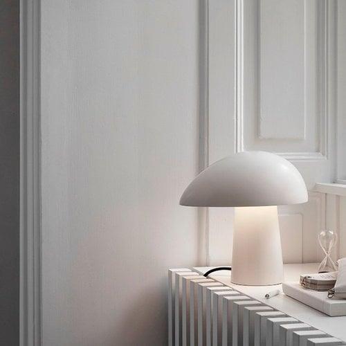 Lightyears Night Owl table lamp, smokey white