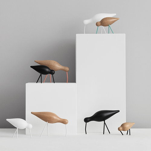 Normann Copenhagen Shorebird, large, white