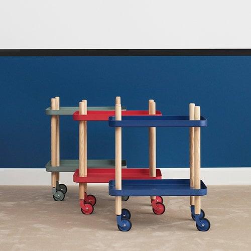 Normann Copenhagen Block table, dark blue