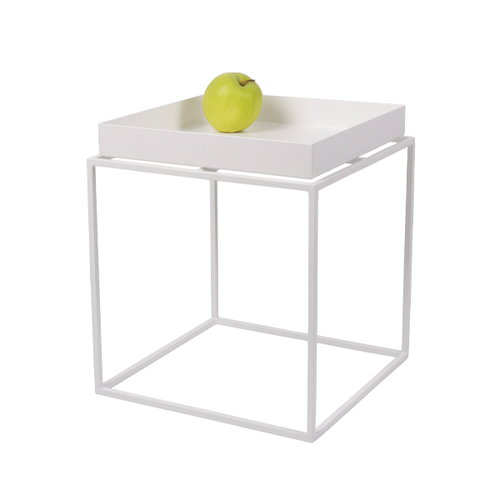 Hay Tray table small, white