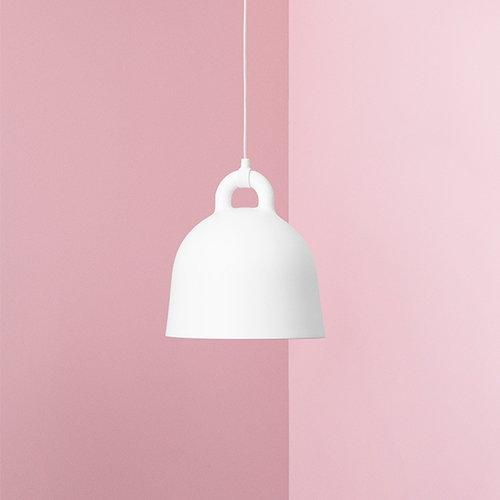 Normann Copenhagen Bell lamp, L, white